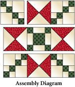Crossing Ohio Star Pattern free from McCall's Quilting. Above is ... : ohio star quilt pattern free - Adamdwight.com