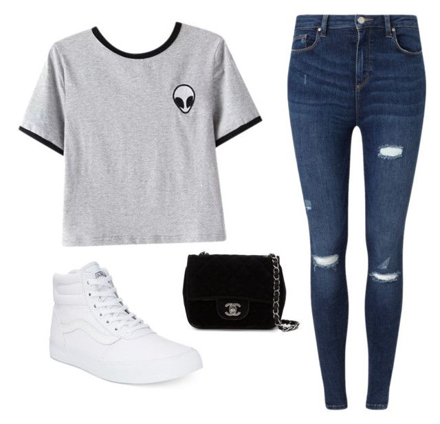 """""""Untitled #19"""" by isabellemartinez21 on Polyvore featuring beauty, Chicnova Fashion, Miss Selfridge, Vans and Chanel"""