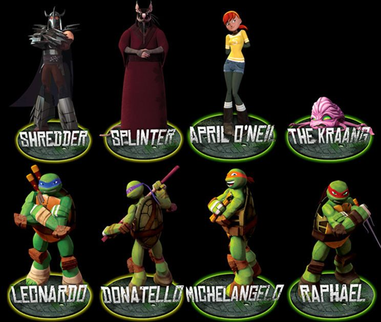 What Are The Tmnt Names