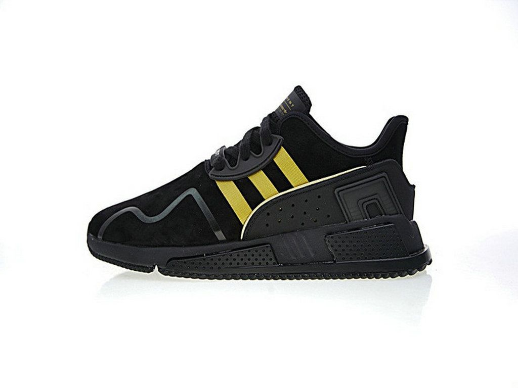Adidas EQT Cushion ADV Black Yellow Bb6212 Mens Adidas ning Shoe