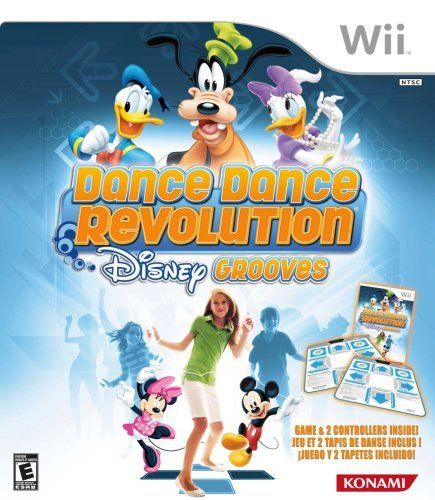 Dance Dance Revolution Disney Grooves Includes Two Dance Mats By