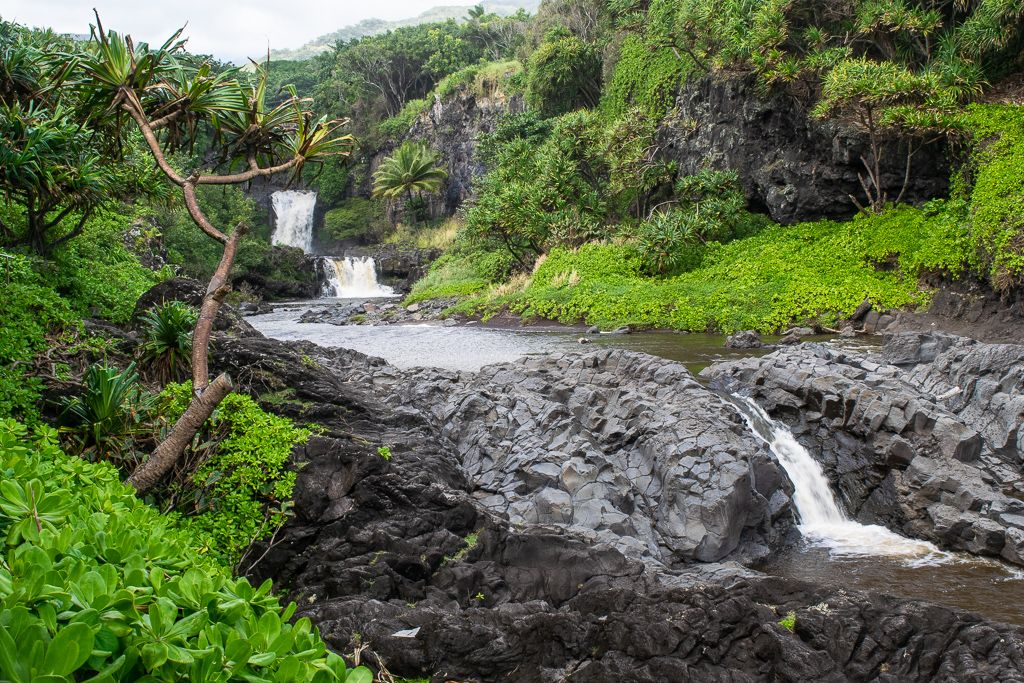 Ohe O Gulch And The Seven Sacred Pools Haleakala National Park National Parks Hana Highway
