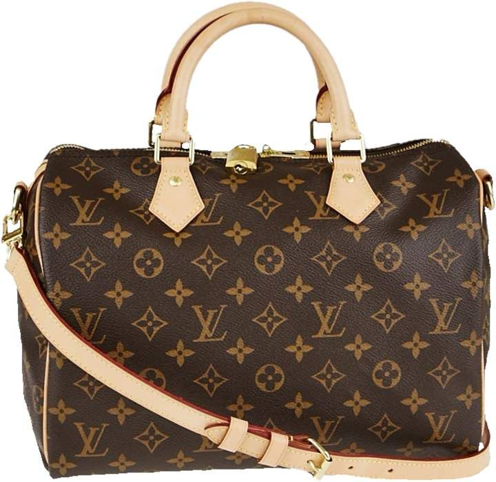 Louis Vuitton Speedy Bandouliere Monogram 30 Brown Louis Vuitton Speedy Bandouliere Vuitton Handbags Michael Kors
