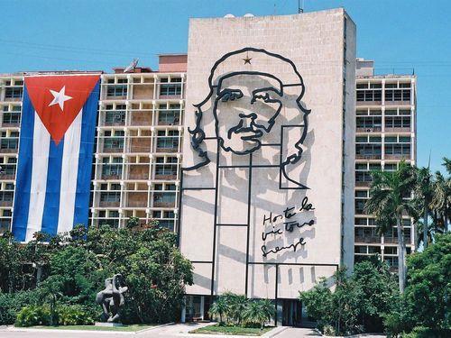 Plein in Havana.