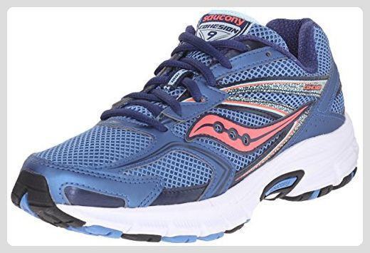 Sneakers Met Licht : Saucony damen cohesion w sneakers azul blue licht blue