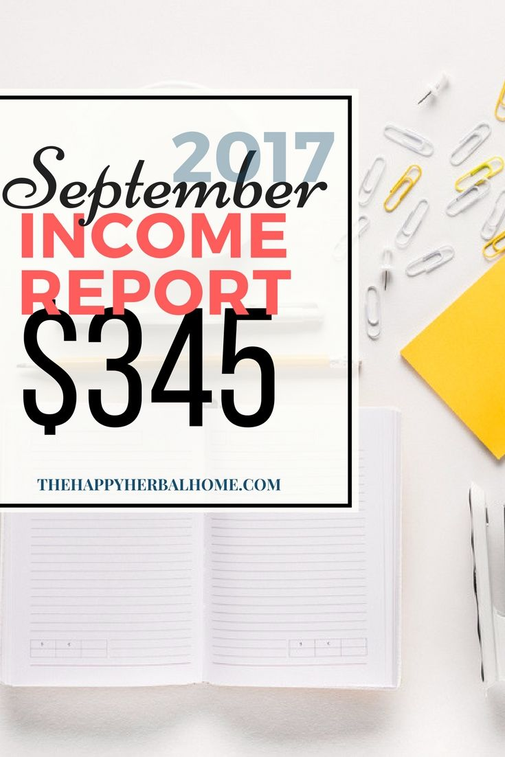 Beginner Blog Income Report  September   Be A Stay At Home