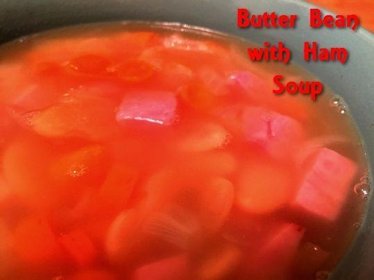 Butter Bean and Ham Soup http://www.momspantrykitchen.com/butter-bean-and-ham-soup.html