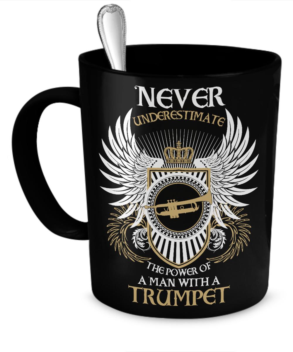 A Man With A Trumpet 11oz Mug