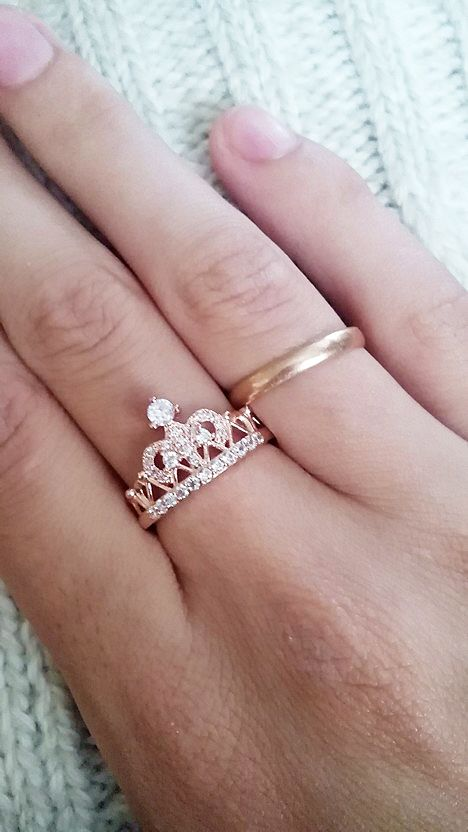 Exquisite Crown Shaped Ring I Love This For Purity Rings The S