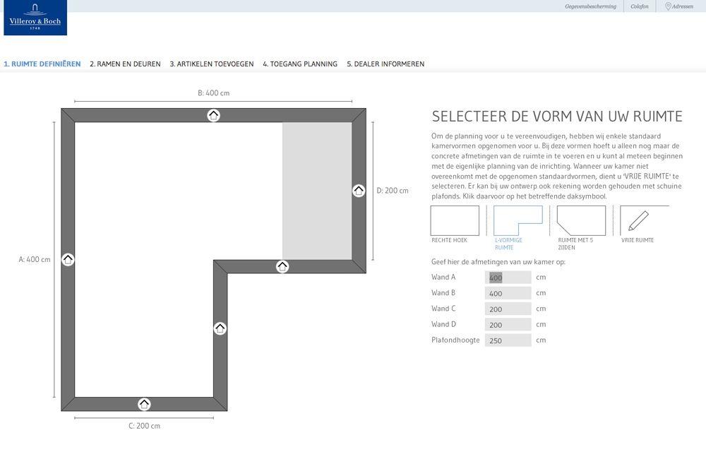 Tekenprogramma villeroy en boch for Tekenprogramma woonkamer