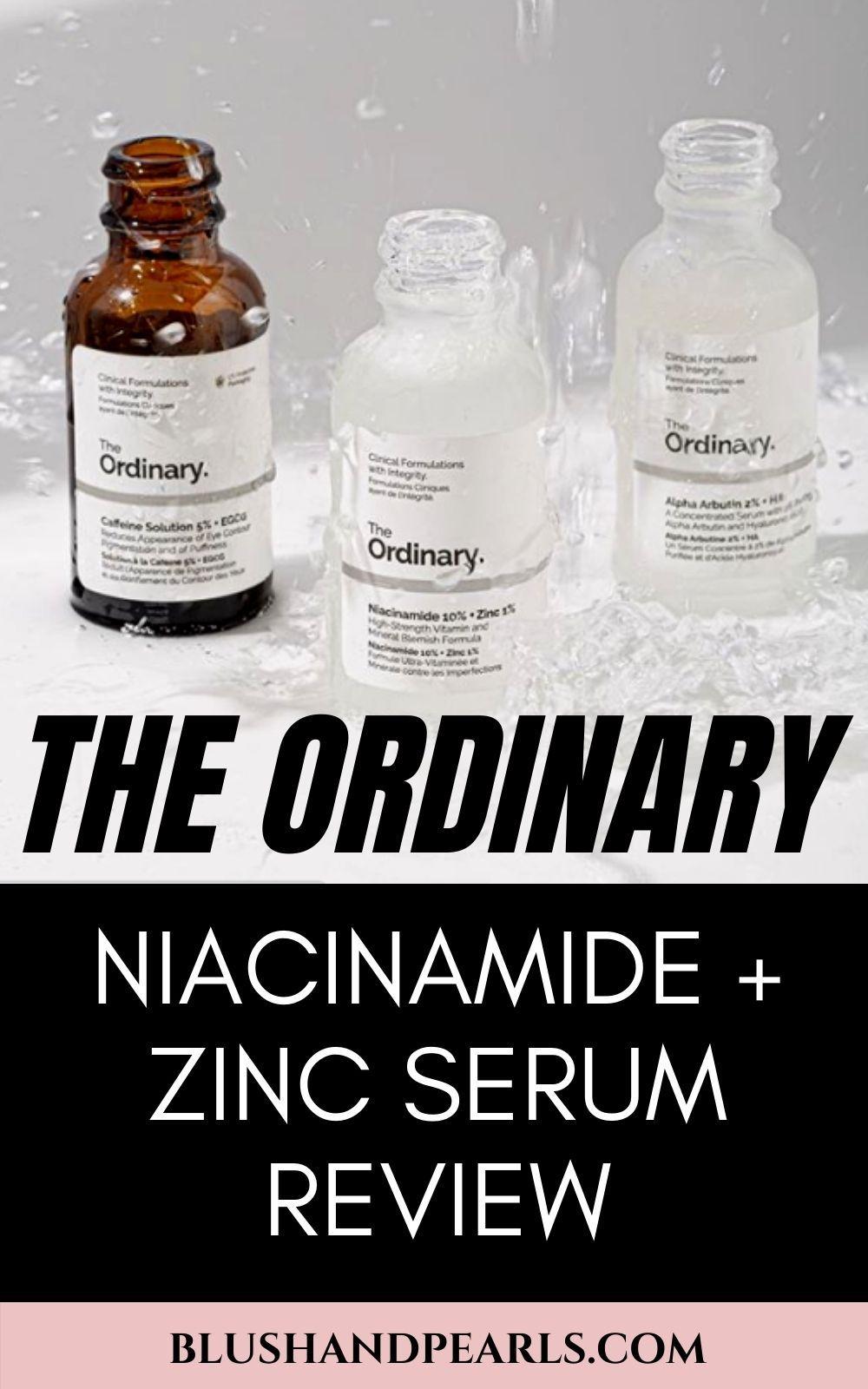 The Ordinary Niacinamide 10 + Zinc 1 For Oil + Pore