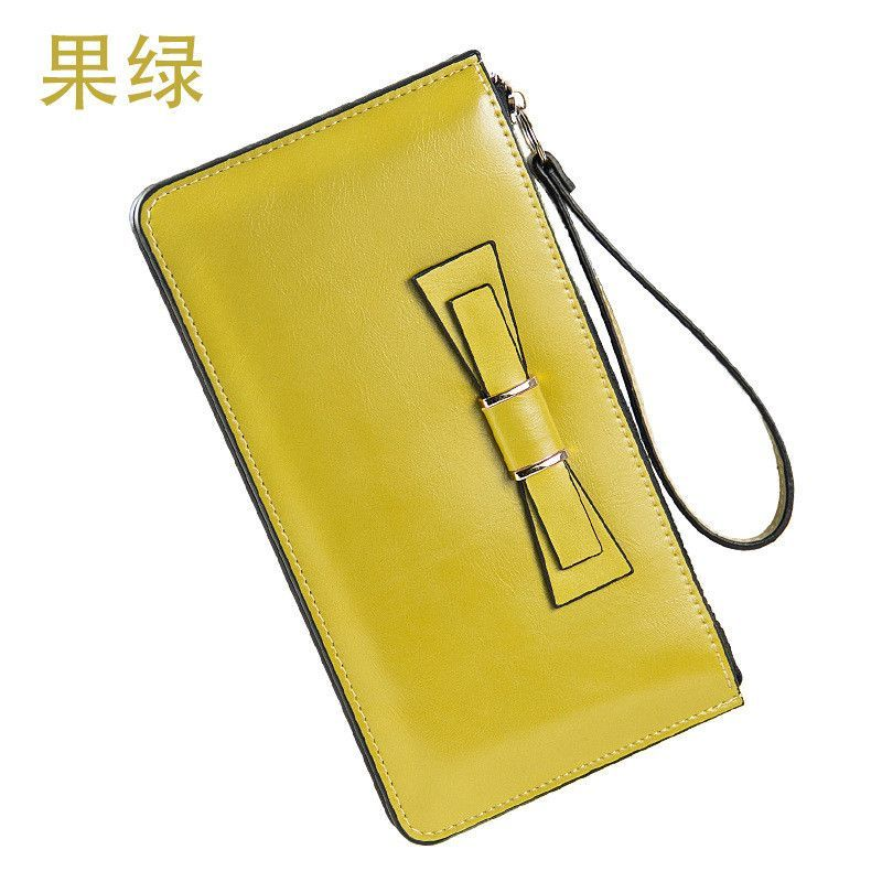 Large Capacity Women's Wallet High Grade Synthetic Leather - 8 Colors