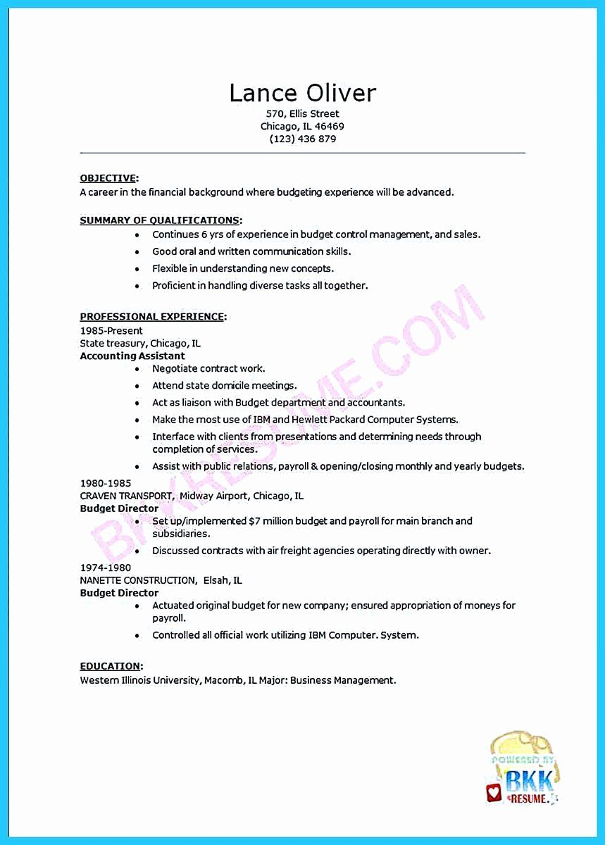 Assistant Manager Duties Resume Inspirational Writing Your