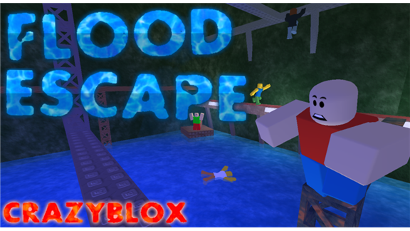 Flood Escape 1 6 4 2 A Free Game By Crazyblox Roblox Updated