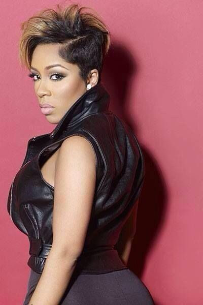 K Michelle Short Hair Styles Stylish Hair Cute Hairstyles For Short Hair