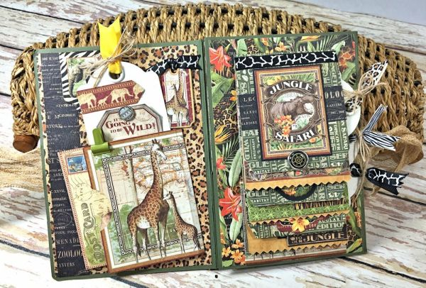 Zoo Party Ensemble, Safari Adventure by Kathy Clement, Product by Graphic 45 Photo 29