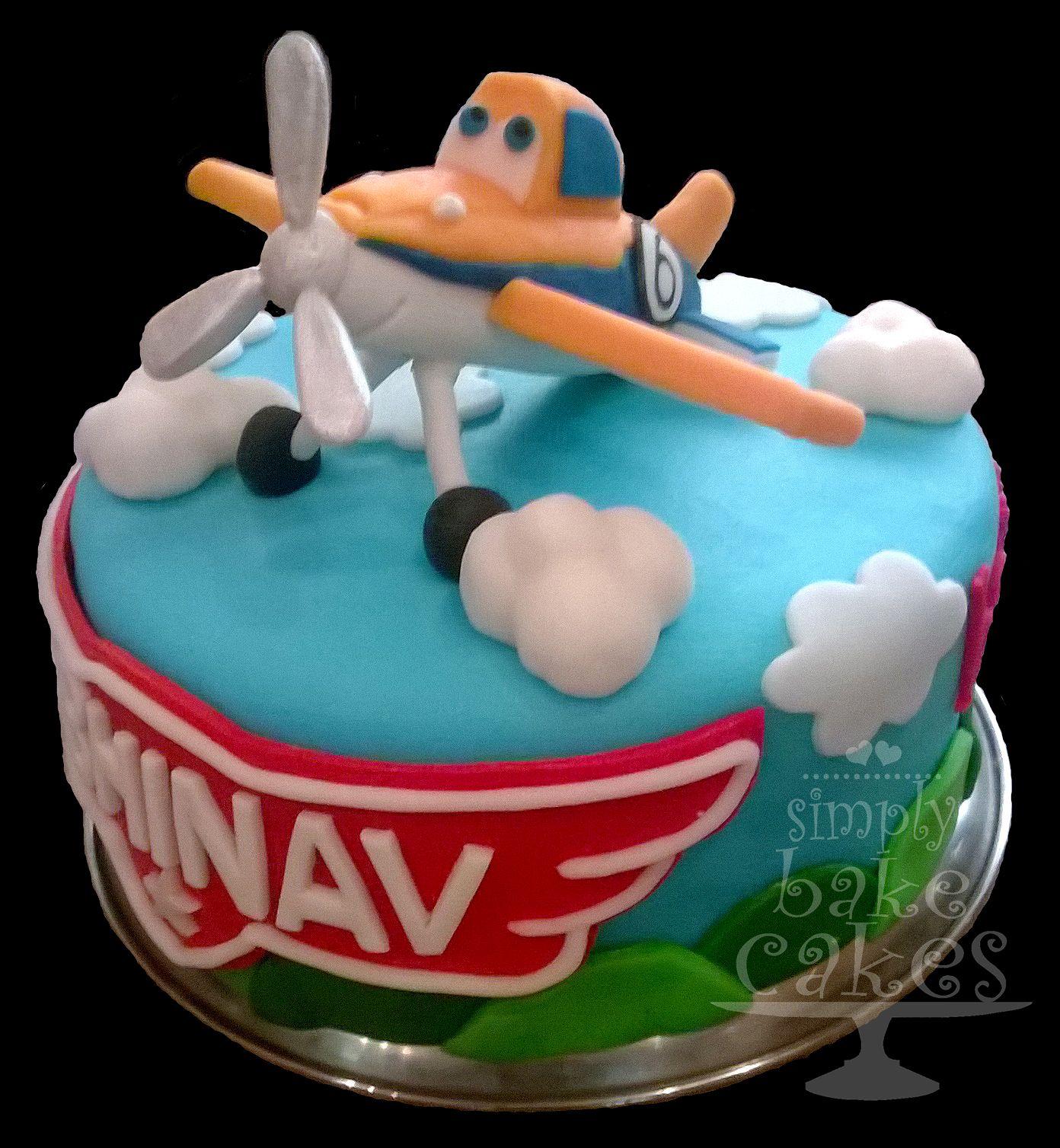 Disneys Planes Dusty Crophopper Birthday Cake Tutorial Http