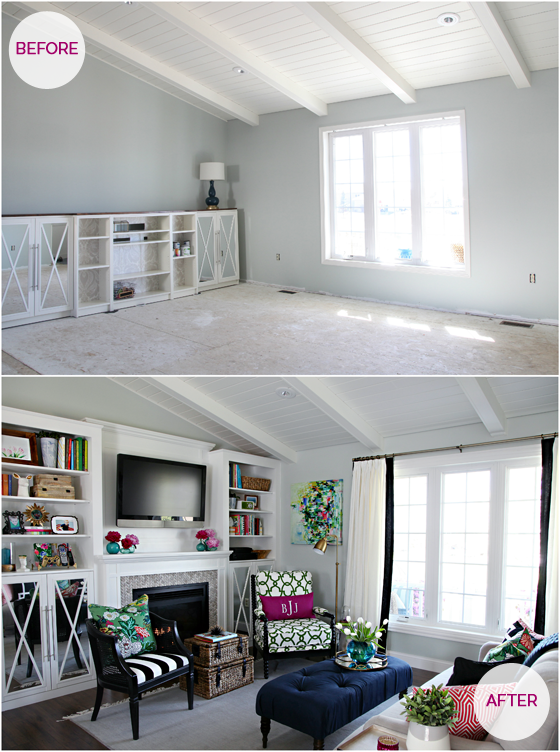 201 One Room Challenge Week 6  Iheart Living Room Reveal Brilliant How To Organize A Small Living Room Inspiration