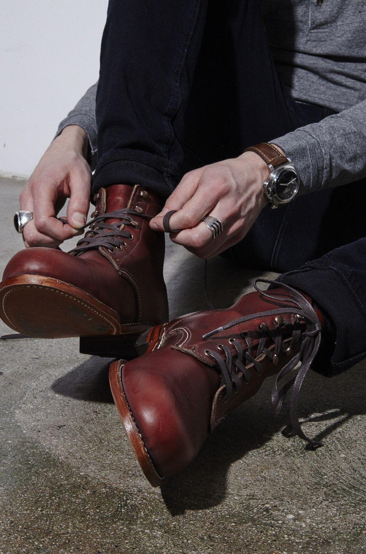 2018 年の wolverine 1000 mile boot rust leather work ideas