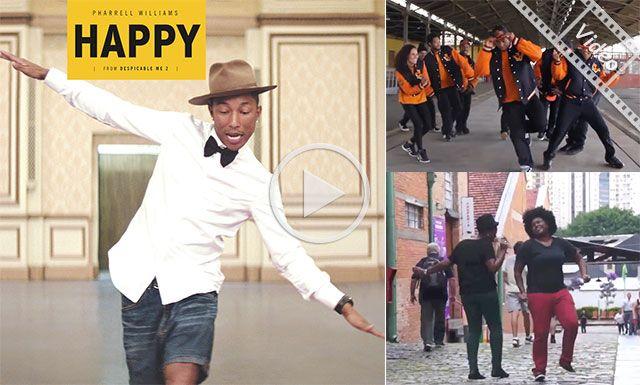 Happy se convierte en el himno del d a internacional de for Noticias del espectaculo internacional