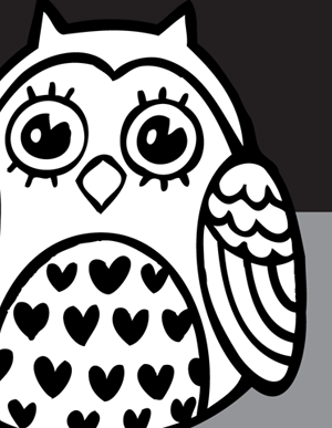 Owl From Vector Genius Owls Drawing Black And White Owl Cute Owl