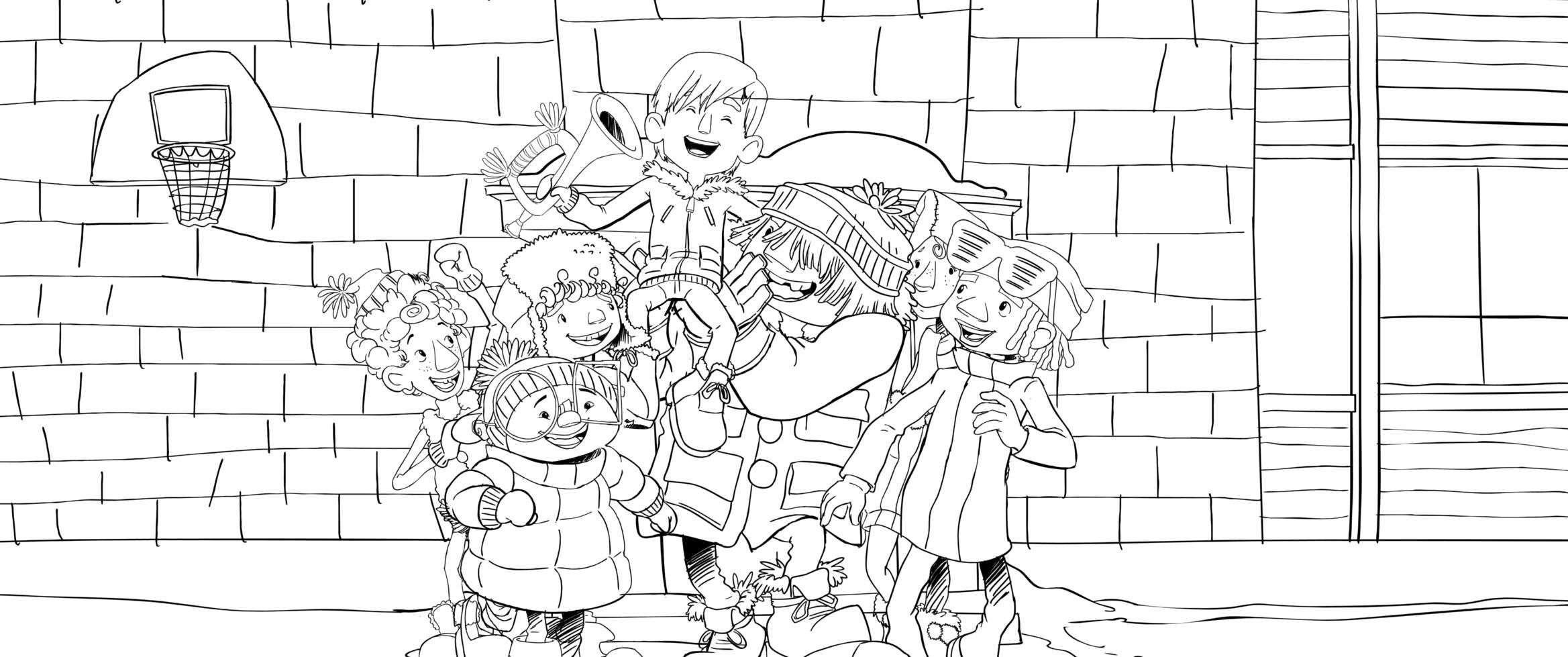 tuques coloring pages - photo#27
