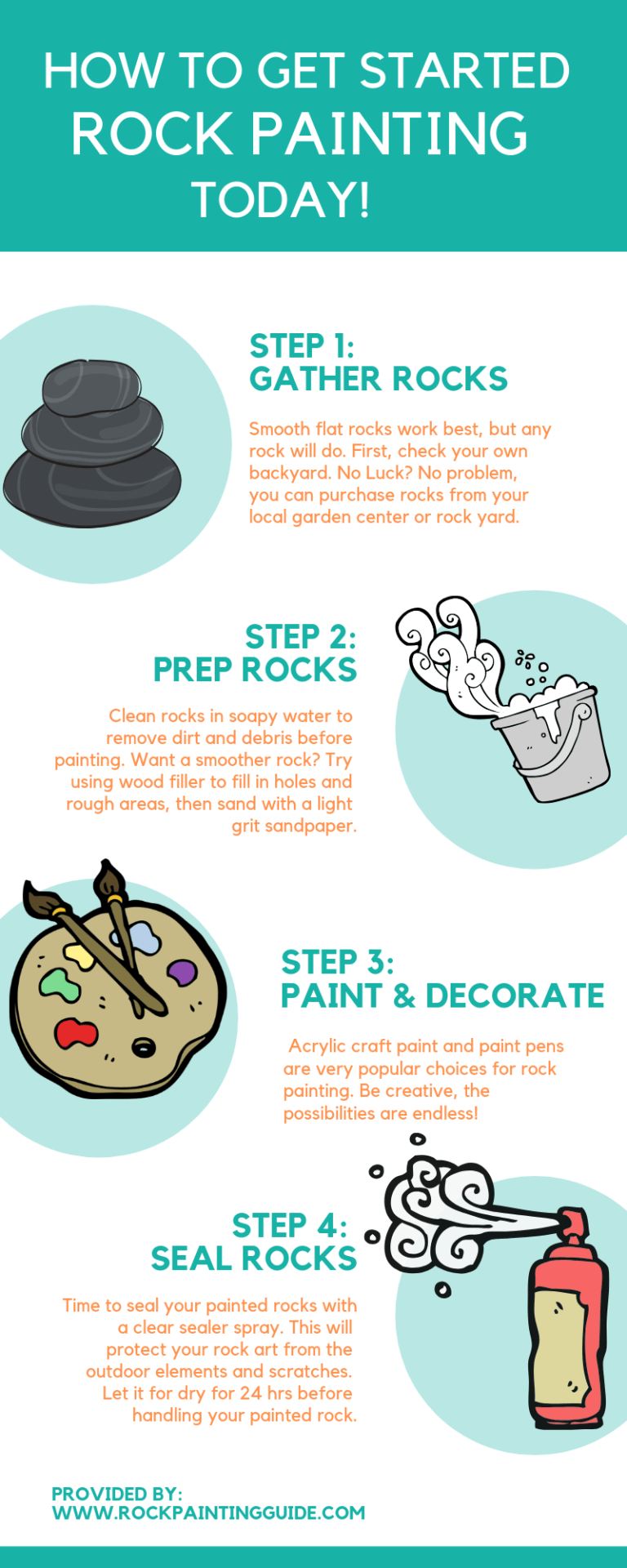 How to Paint Rocks [Beginner's Guide Series] is part of Painted rocks diy, Painted rocks, Painted rocks kids, Rock painting tutorial, Paint rock, Rock painting ideas easy - Learn how to paint rocks in this part 1 of the Beginner's Guide to Rock Painting Series  Breaking down and walking you through the steps of rock painting