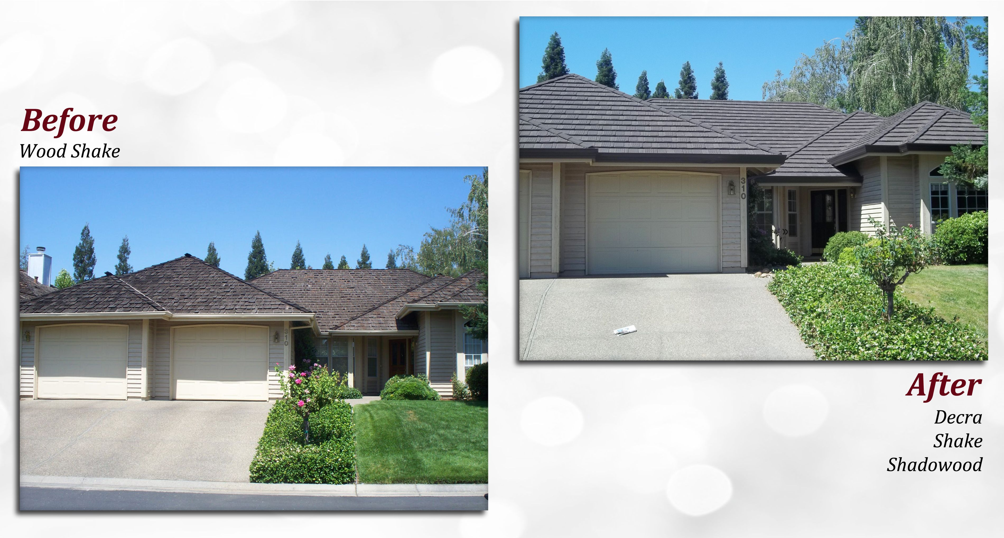 Best Before After Of A Decra Stone Coated Steel Roof Profile 400 x 300