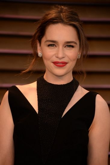 Emilia Clarke Vanity Fair Oscar Party Style Inspiration ...