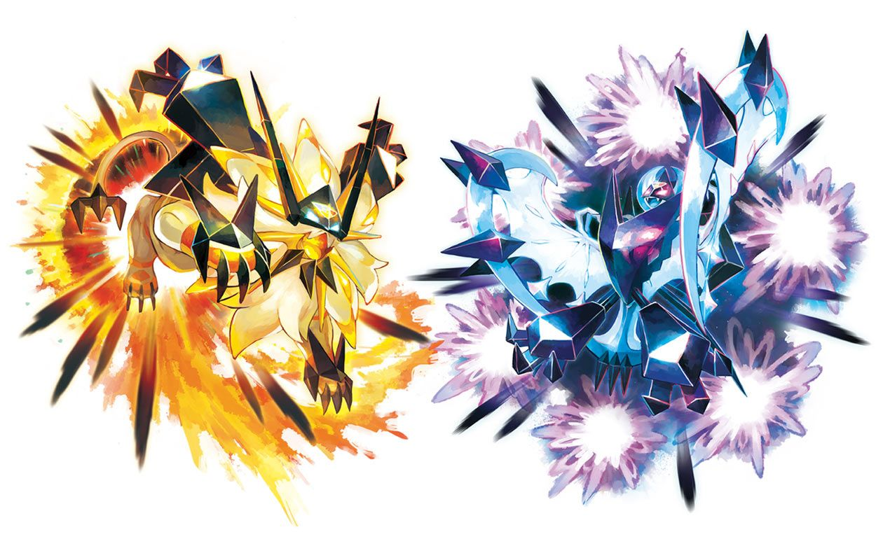 Dusk Mane & Dawn Wings Necrozma Art from Pokémon Ultra Sun and Ultra Moon  #art #artwork #gaming #videogames #gamer #gamear… | Pokemon art, Pokemon,  Pokemon rayquaza