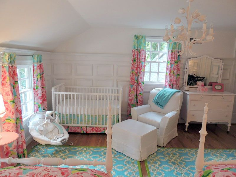 lilly-nursery-feature | ~Lilly Pulitzer~ | Pinterest | Themed ...