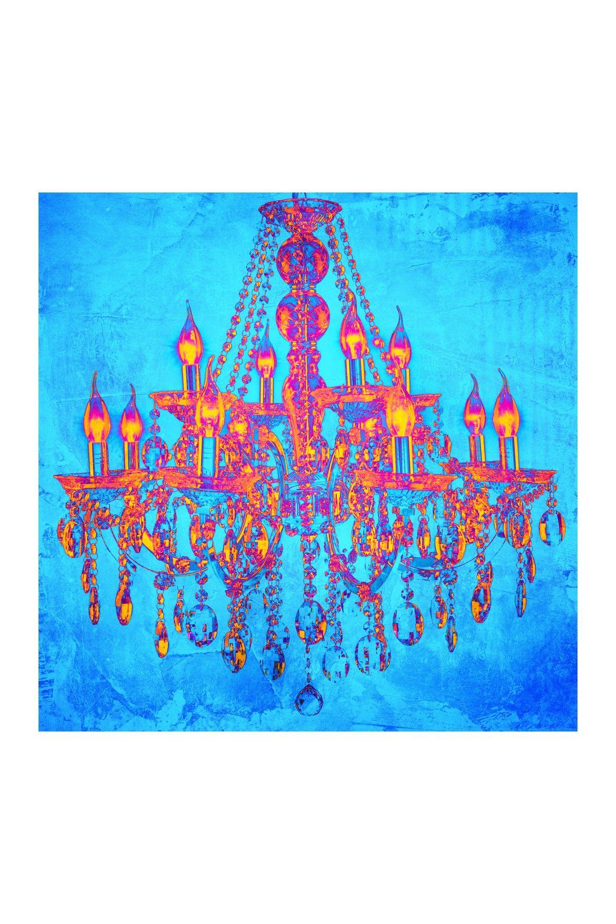 Tropic Chandelier Canvas Wall Art on HauteLook