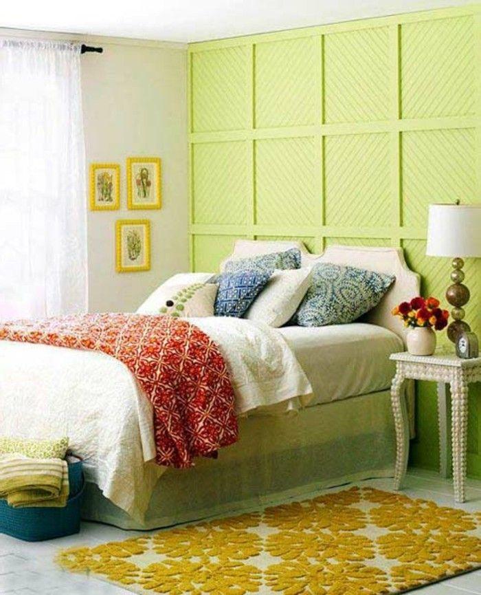 Schon Schlafzimmer Wandfarbe Ideen In 140 Fotos!   Archzine.net