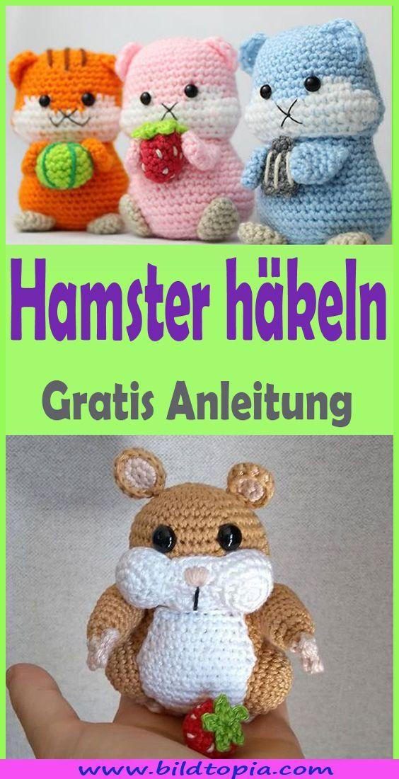 Photo of Häkeln Amigurumi Hamster – Kostenlose DIY-Anweisungen Trends iDeas