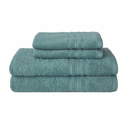 Charisma Bath Towels Fair Charisma 100% Hygro Cotton 4Pcbath Towel Setgreen Cha For Review