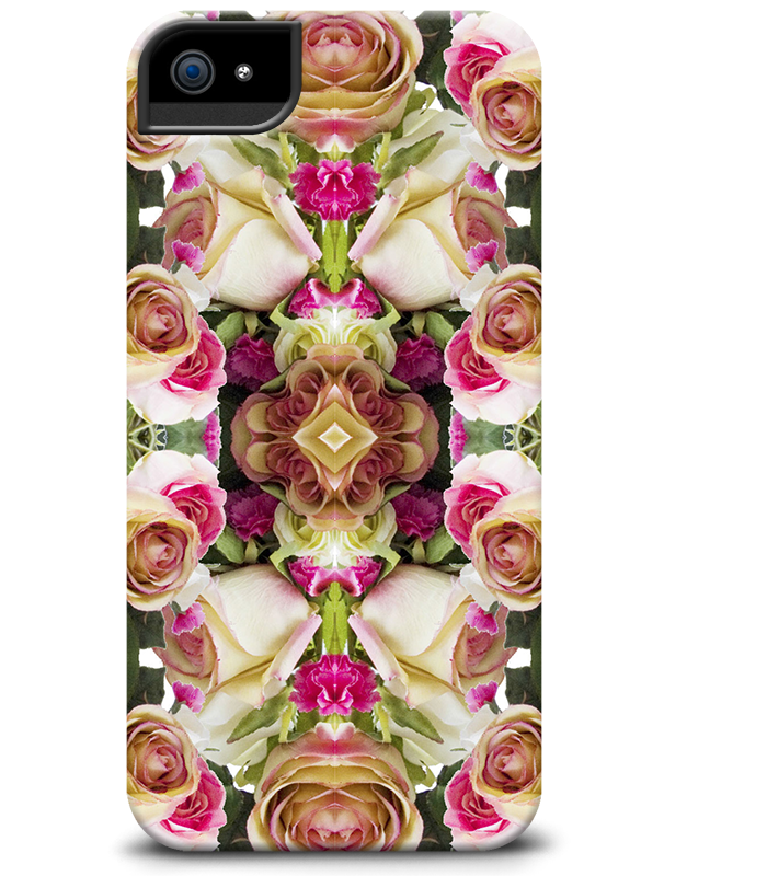 Rose Kaleidoscope phone case from the P.S.- I made this...Collection http://cellairis.com/psimadethis