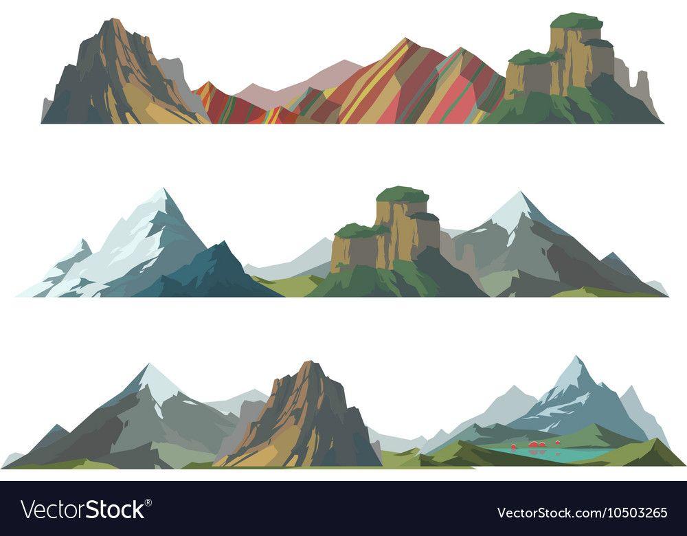 Blue Mountain Symbol Illustration Nature Icon Abstract Graphic Logo Sign Silhouette Peak Hill Shape Landscap Mountain Logos Mountain Clipart Nature Logo Design