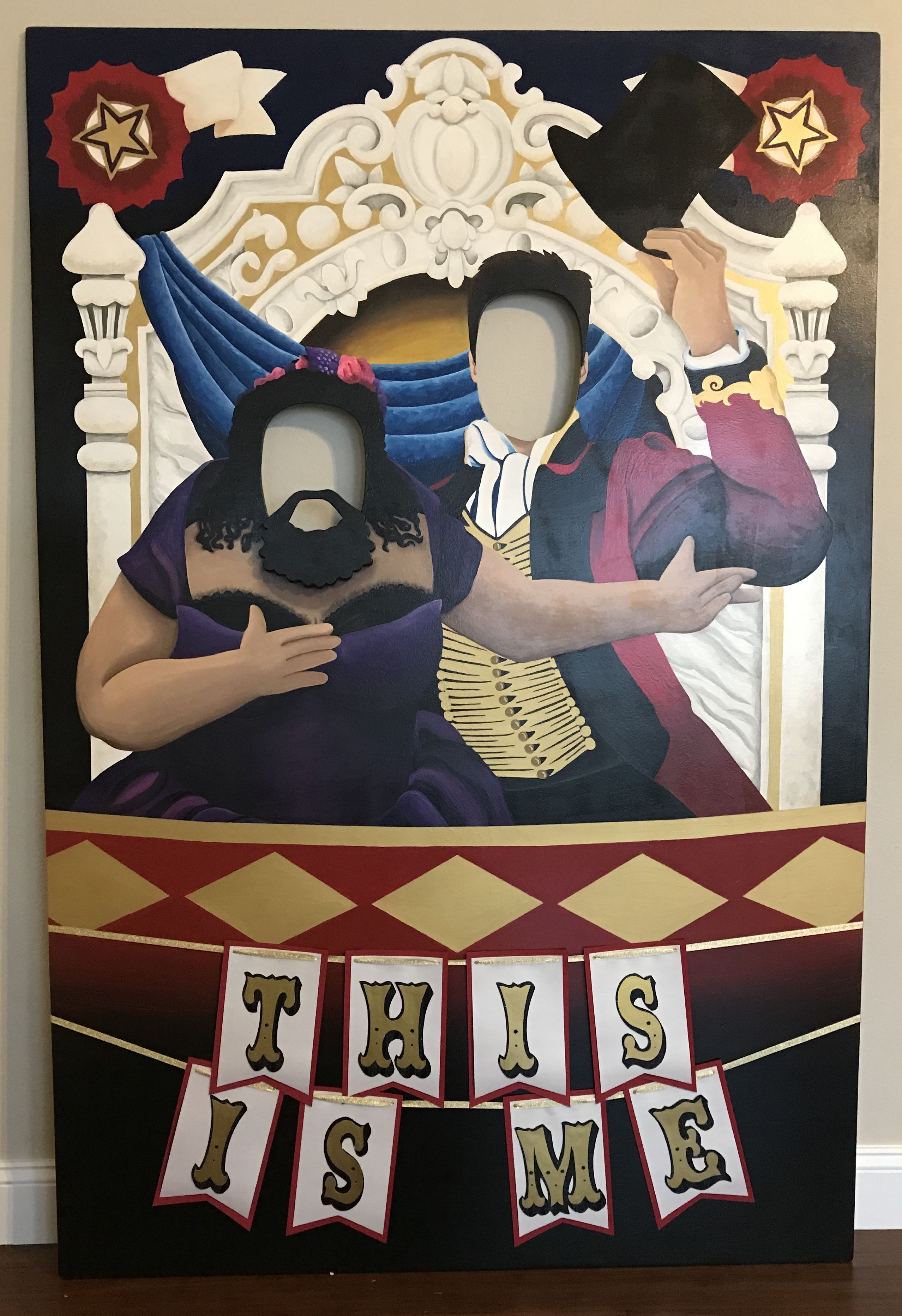 Photo booth inspired by The Greatest Showman  Fun for circus or any