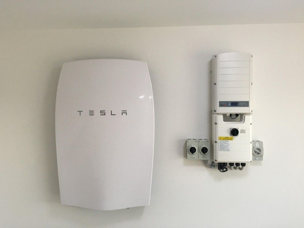 tesla powerwall solaredge rws storedge backup power clean. Black Bedroom Furniture Sets. Home Design Ideas