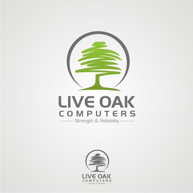 oak tree logo design | Tree Logo Design | logo | Pinterest | Trees ...