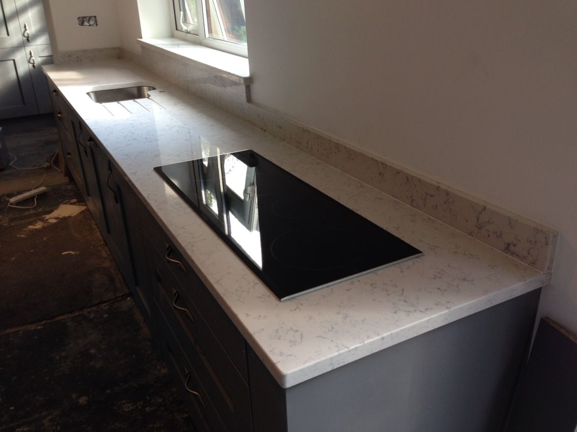 Excel Granite And Marble Ltd Installation Of Quartz Kitchen Worktops In Cheshire Www
