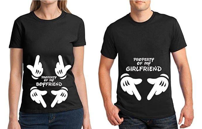 Tstars Hubby /& Wifey Matching Couple Raglan Shirt His /& Hers Gift for Husband and Wife