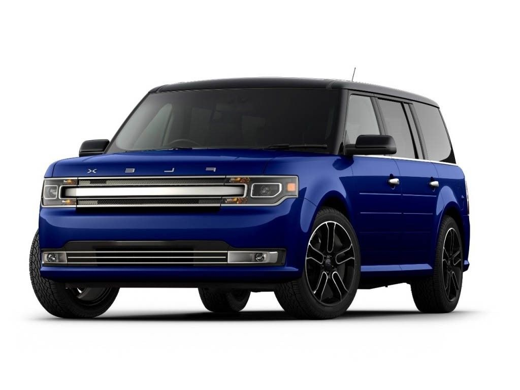 2018 ford flex concept blue
