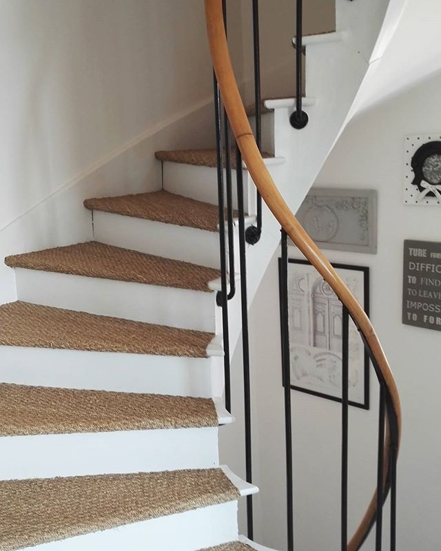 La Haut Mon Nid Escalier Joncdemer Mybedroom Happysunday Idees Escalier Deco Maison Moquette Escalier