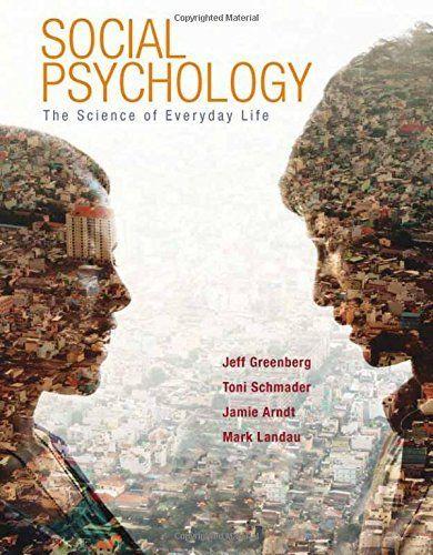 Socialpsychologythescienceofeverydaylifefirstedition social psychology the science of everyday life pdf ebook fandeluxe Gallery