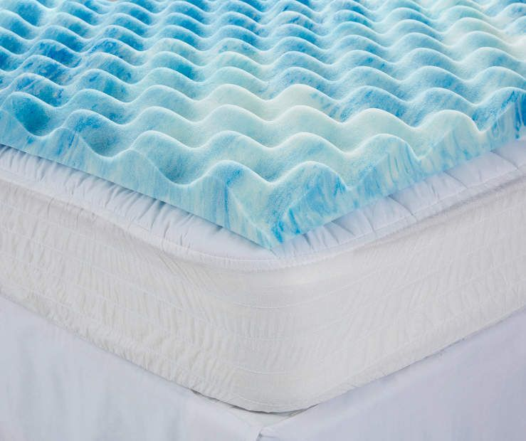 Serta Rest Queen 3 Gel Memory Foam Mattress Topper Memory Foam
