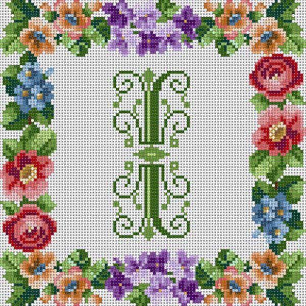 Victorian Alphabet   Cross Stitch and Embroidery   Pinterest   Punto ...