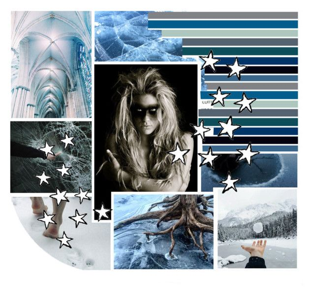 """Queen of the Ice"" by dancing-with-wolves ❤ liked on Polyvore featuring art"