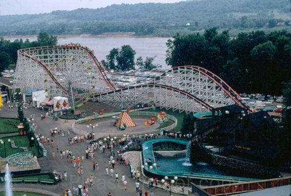 35mm color slide 1960's Coney Island Amusement Park Cincinnati | Coney  island amusement park, Amusement park, Coney island cincinnati