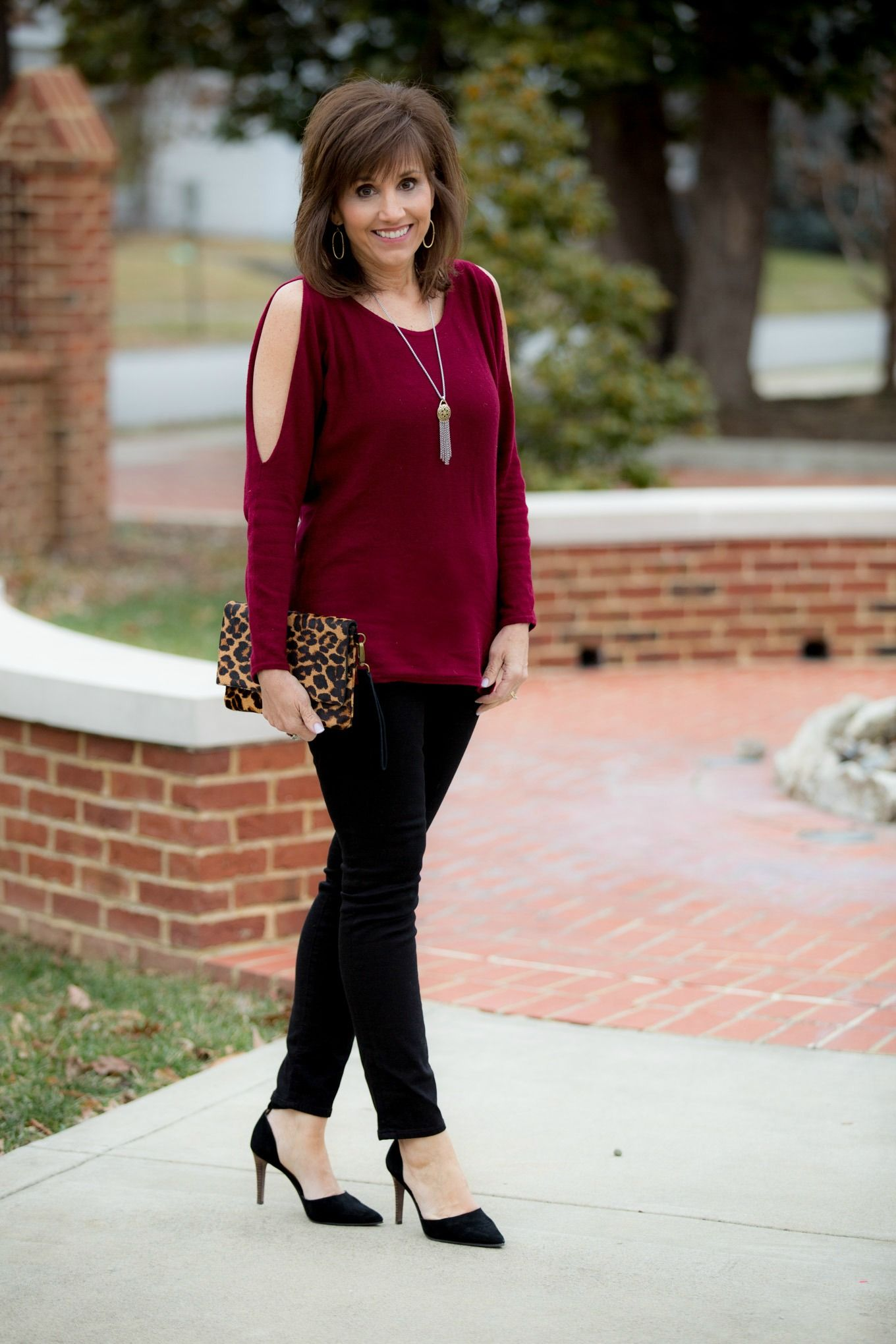 Holiday Outfit by Lucky Brand - Cyndi Spivey